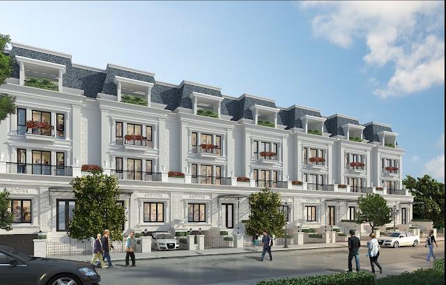 Thiết kế nhà phố dự án Sunshine Wonderland Villa
