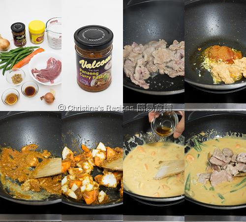 Thai Pork Curry Procedures