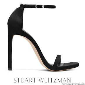 Meghan Markle wore Stuart Weitzman Nudist sandal