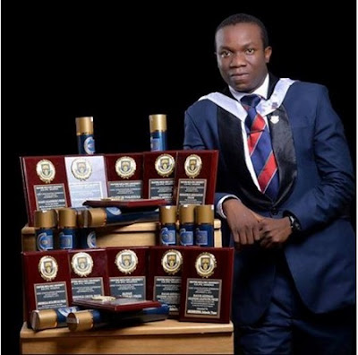 OAU Medicine Graduate Bags 12 Prestigious Awards on the Same Day