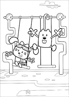 Fun Coloring Pages: Wow Wow Wubbzy Coloring Pages
