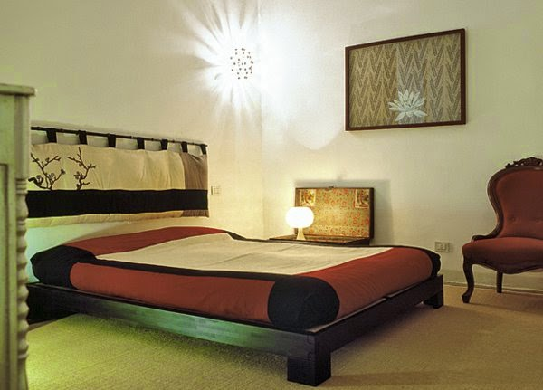 Modern Bedroom Lighting Ideas Bedroom With Wall Lamp Likes The Sun