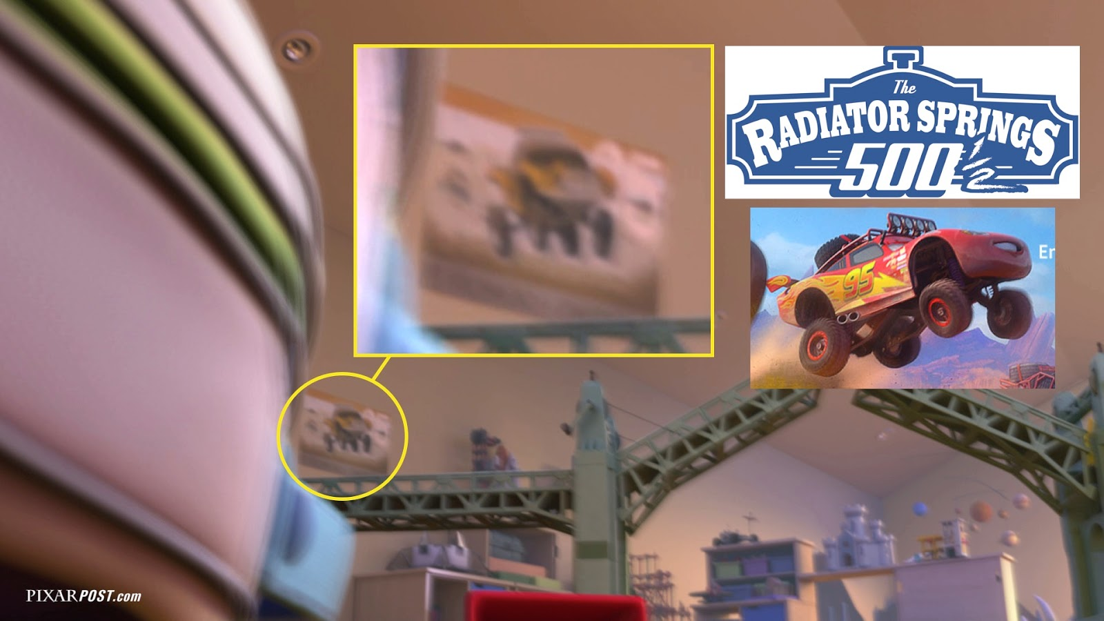 in depth look at the easter eggs hidden in toy story that time forgot updated w inside out coco and cars 3 hidden items pixar post - Easter Egg Images 3