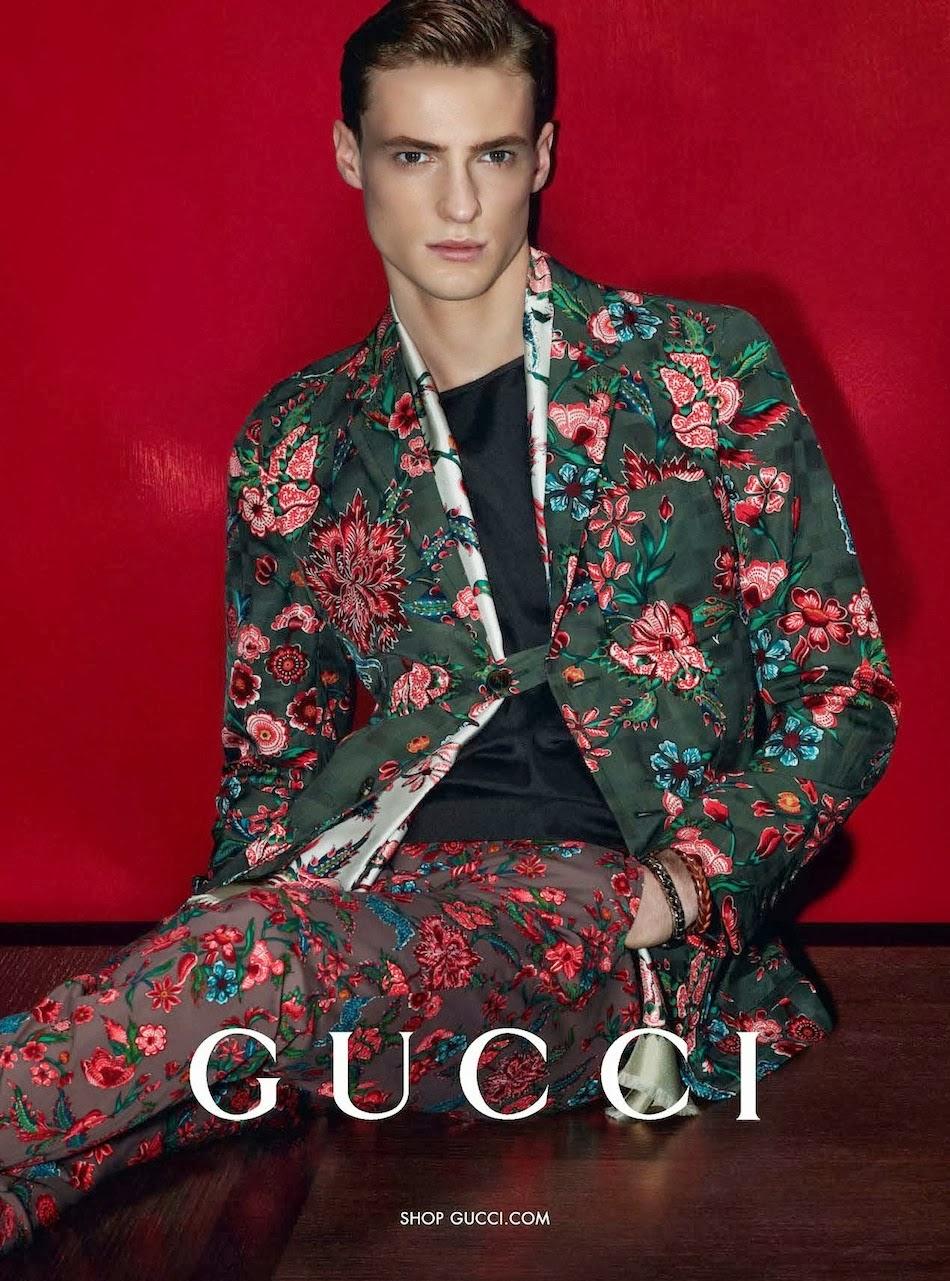 Gucci Spring/Summer 2014 hombre