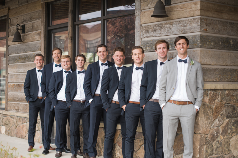 Groomsmen / Photography: Kelly Kirksey Photography / Planner: Tanya Gersh Events / Florist: Mum's Flowers