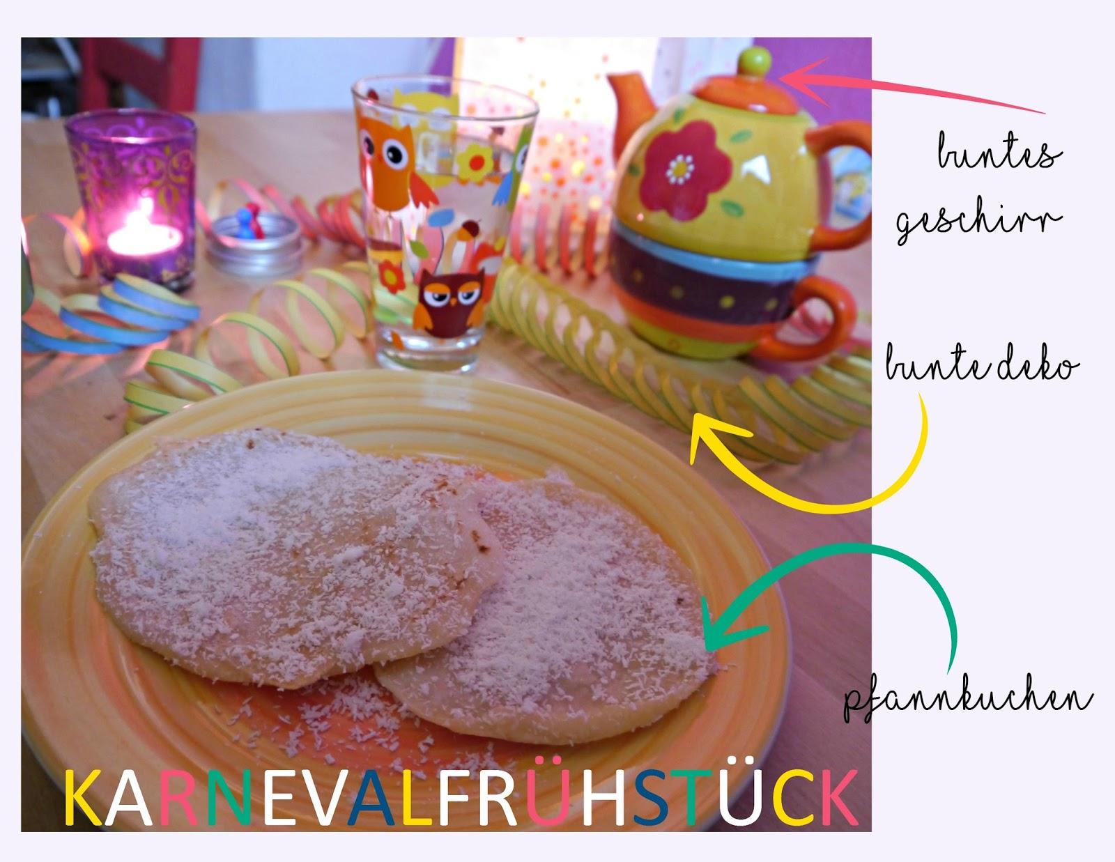 Karneval Frühstück so geht es