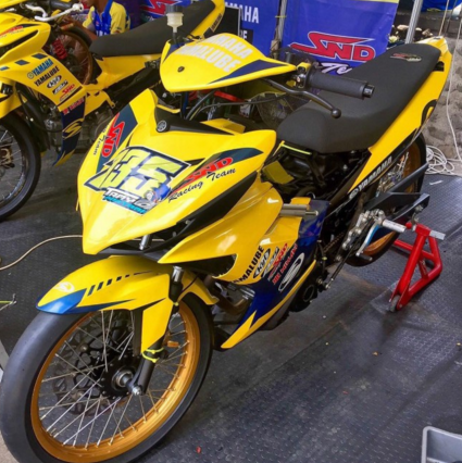 Modifikasi Yamaha jupiter