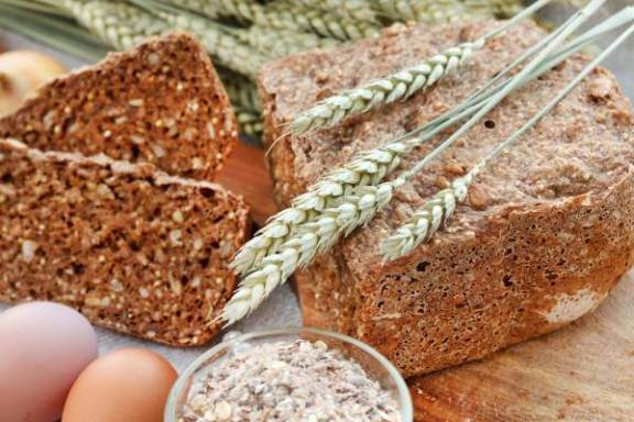 roti gandum serat penuh untuk kencing manis