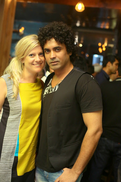 (L-R) Emily Morgan Evans, Rahul Singh