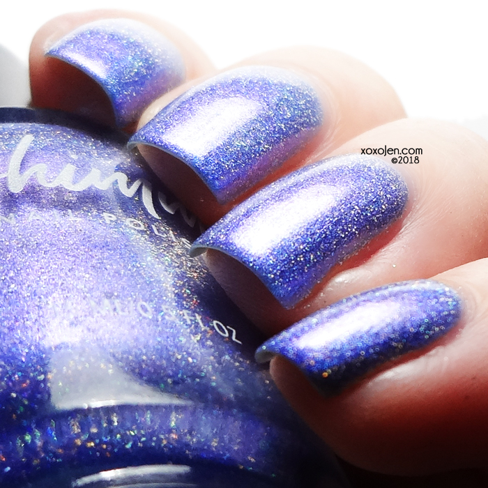 xoxoJen's swatch of KBShimmer Now and Zen