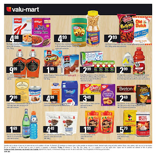 Valu-mart Canada Flyer March 29 - April 4, 2018