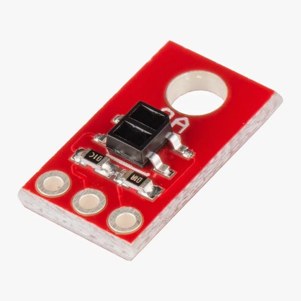 Módulo sensor de linha analógico QRE1113 Sparkfun