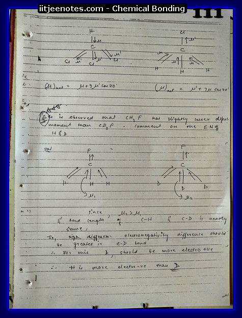 Chemical-Bonding Notes class 11-15