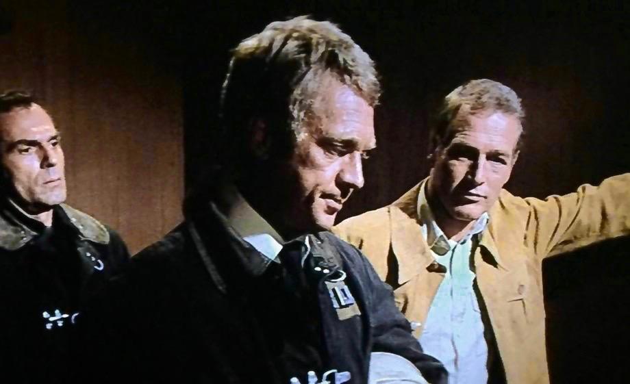 cult film freak: STEVE MCQUEEN FIRES PAUL NEWMAN IN 'THE TOWERING