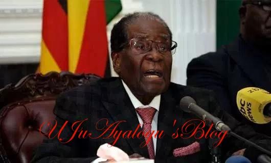 Mugabe's resignation letter in full
