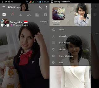 BBM Mod Maria Ozawa Full Transparant v3.2.0.6 Apk Terbaru