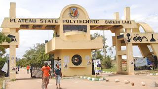 Plateau state polytechnic female hostel was totally destroyed  by fire