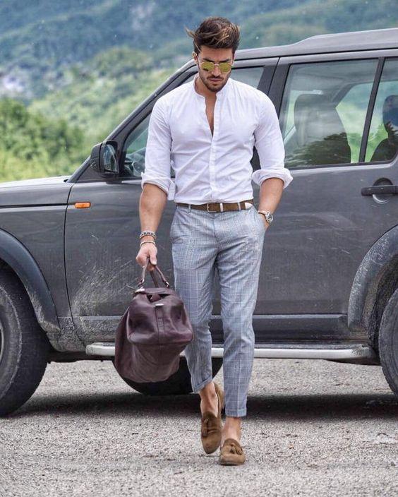 3 cách mix trang phục với giày mọi cho quý ông lịch lãm
