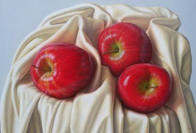 realismo-bodegones-frutas-rojas
