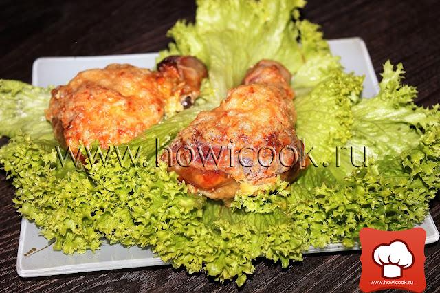 рецепт вкусной фаршированной курицы