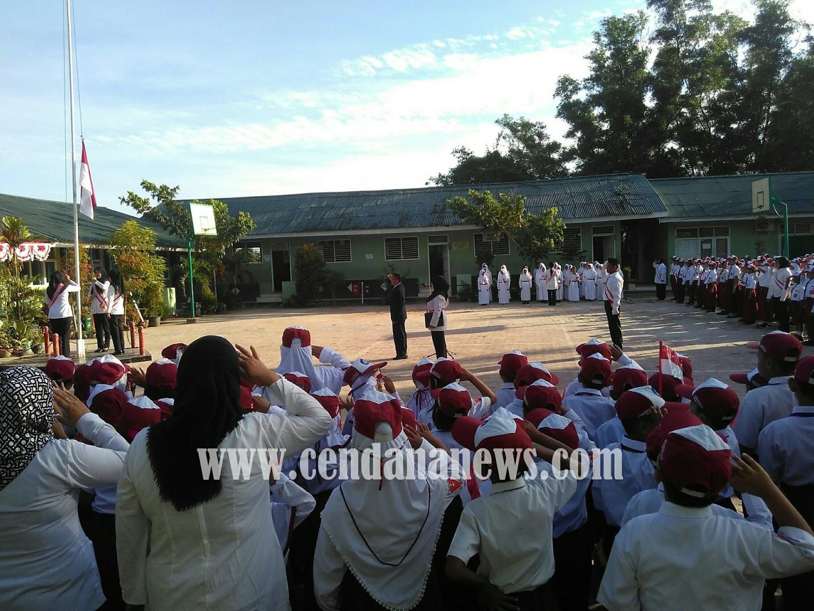Peringati HUT RI Puluhan Sekolah Di Balikpapan Upacara