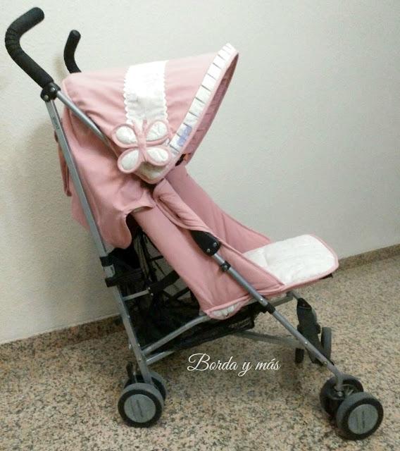 funda Maclaren Quest rosa beige