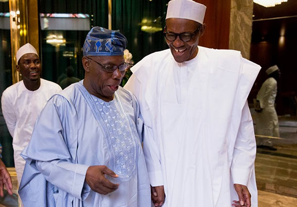 Chief Olusegun Obasanjo Rejects Pres. Buhari's 2019 Bid