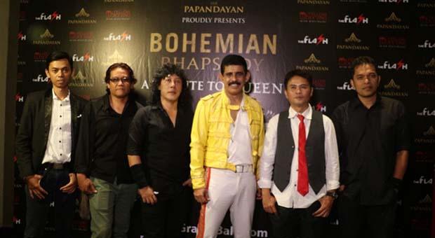Semarak Bohemian Rhapsody a Tribute to Queen di The Papandayan