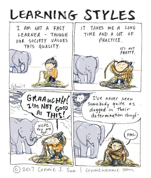learning styles cartoon - photo #1