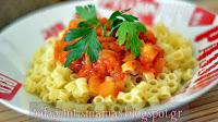 Κόκκινη σάλτσα για Μακαρόνια, με κολοκυθάκι και μαυροδάφνη  - by https://syntages-faghtwn.blogspot.gr