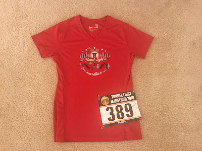 Tunnel Light Marathon shirt 2018