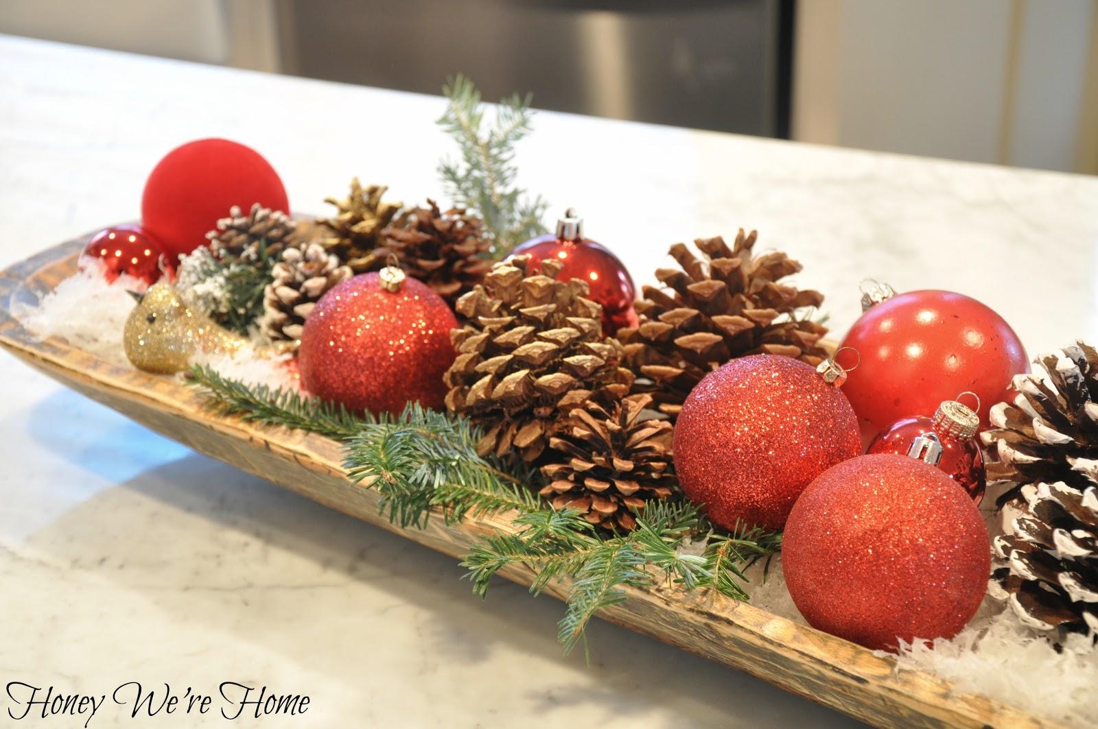 Christmas Dough Bowl | Honey We're Home