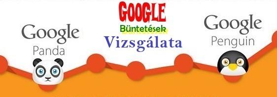 google büntetések vizsgálata