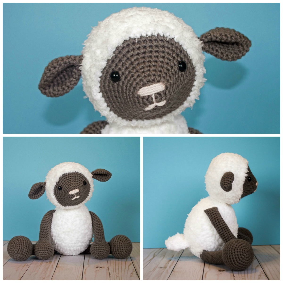 Free Crochet Pattern For Crochet Lamb 2 Thefriendlyredfoxcom