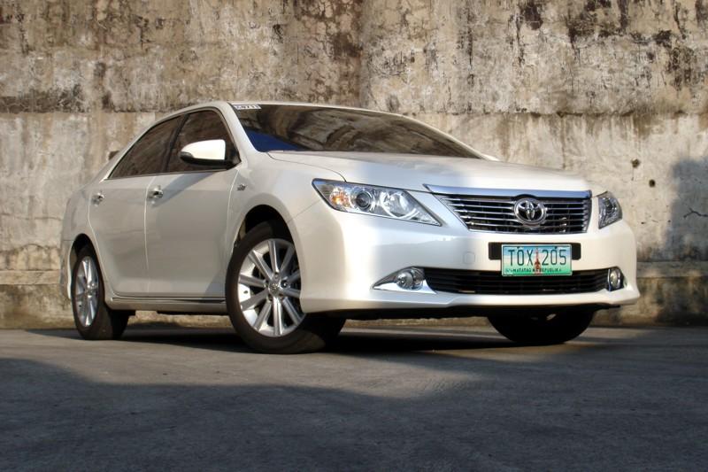 Review: 2012 Toyota Camry 2.5 V