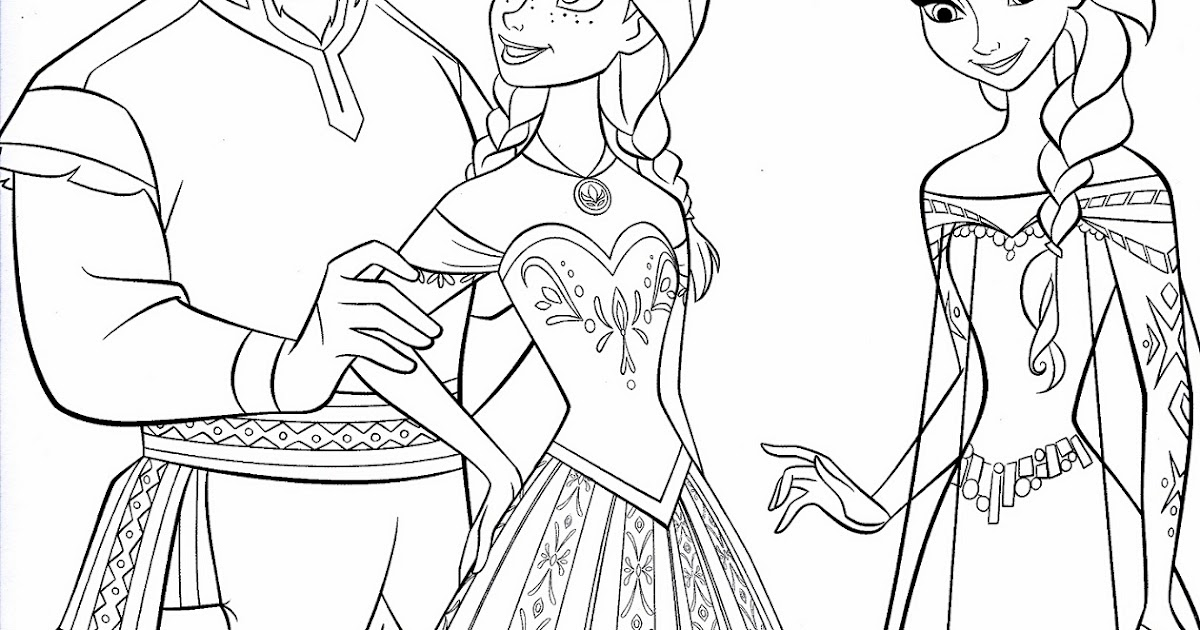 Best Coloring Pages To Print Of Frozen Image | Big ...