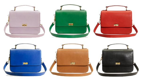 I am normally a big bags type of girl so the Edie is a nice change of pace  for me. I love the shape and the beautiful colors that it comes in. 8e43a9a788495