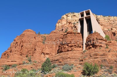 Chapel and Red Rocks at Sedona