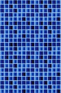 Pastilha de vidro fundo azul
