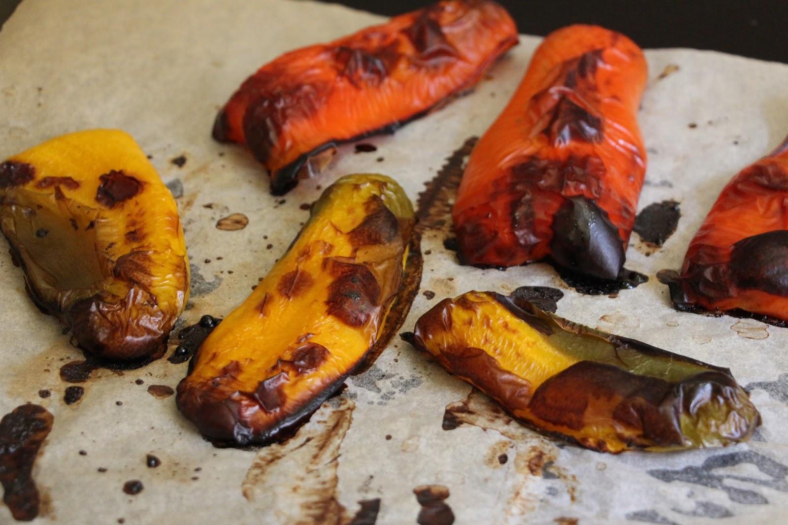 Tartelette de poivrons r tis une recette v g tale star pour l 39 t la f e st phanie - Comment cuisiner des poivrons ...