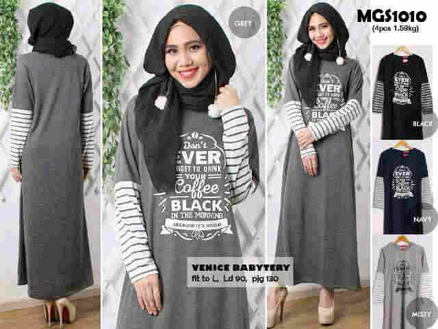 Gamis Bahan Baby Terry GKM4726