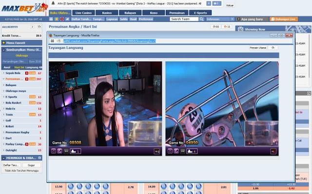 Pandauan bermain Number Game Maxbet - Agen Maxbet Online