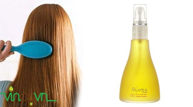 dầu jojoba dưỡng tóc