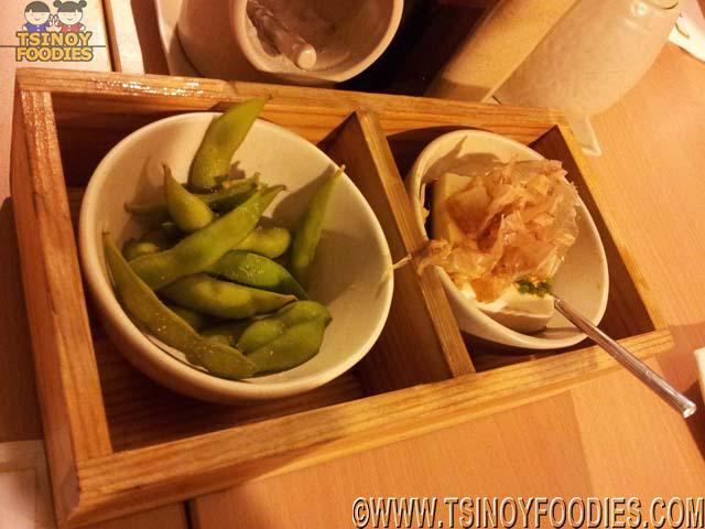 edamame hiyayko tofu