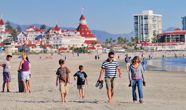 San Diego em abril