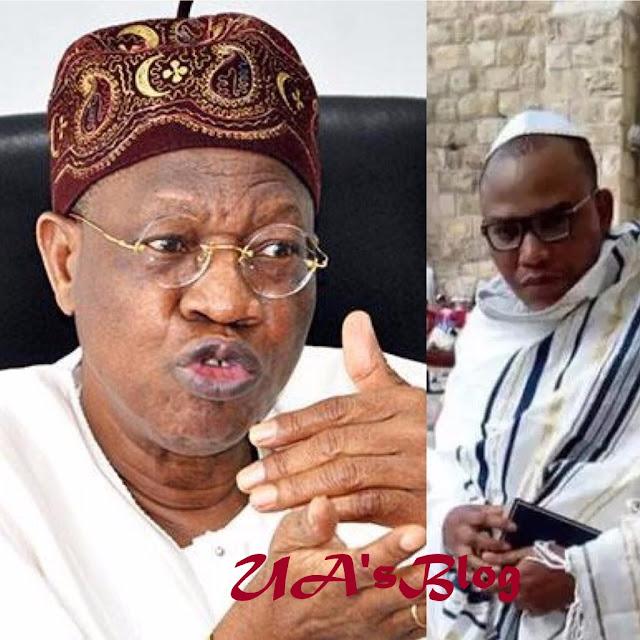 Six facts about Buhari: Lai Mohammed replies Nnamdi Kanu