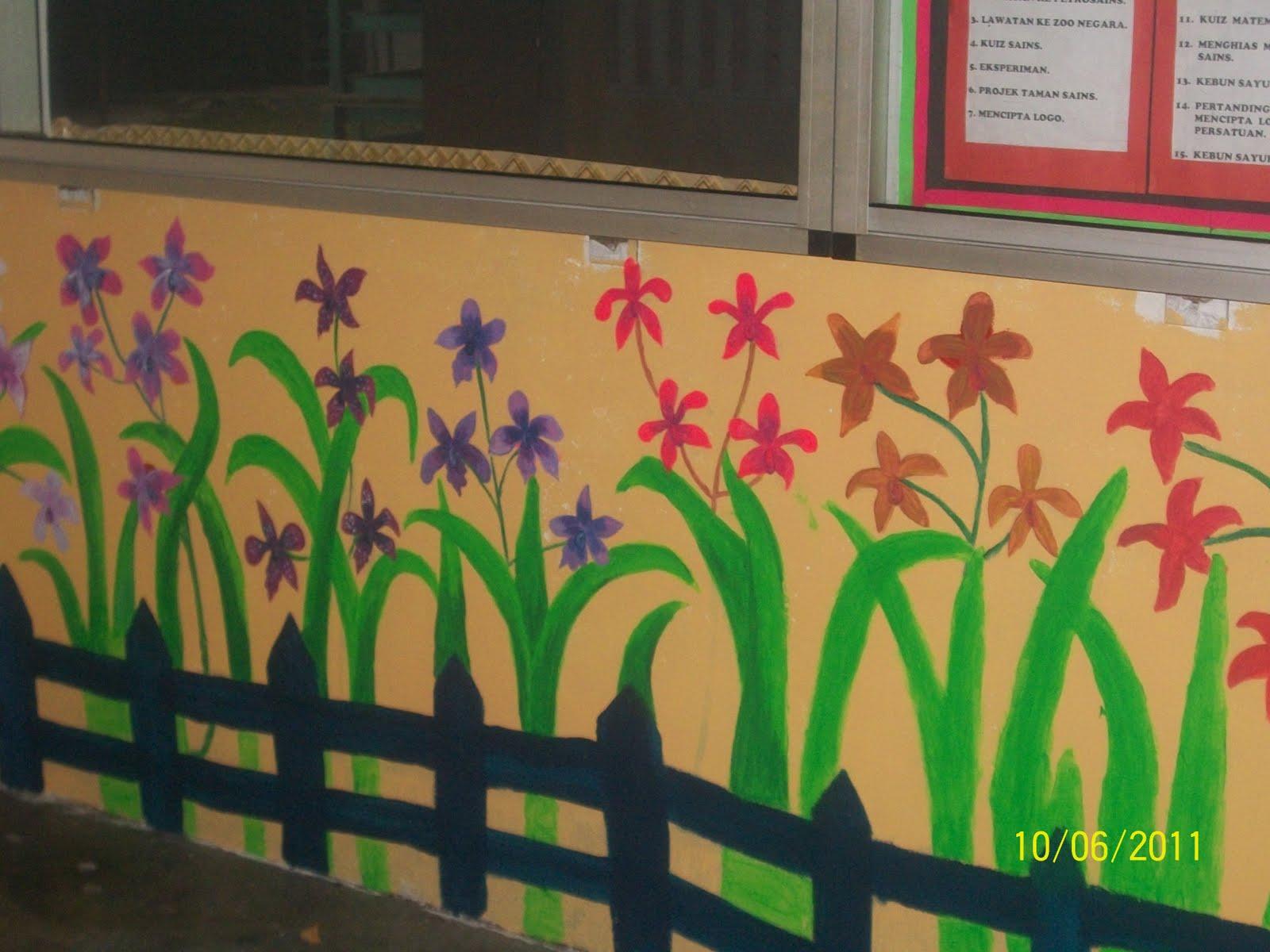 Lukisan Dinding Untuk Tadika Sabalukisan
