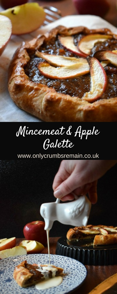 This recipe for a Mincemeat & Apple Galette (Free Form PIe) makes a great mid-week dessert