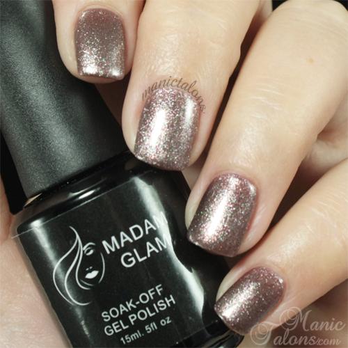 Madam Glam Gel Polish 329 Fairy Tale Swatch