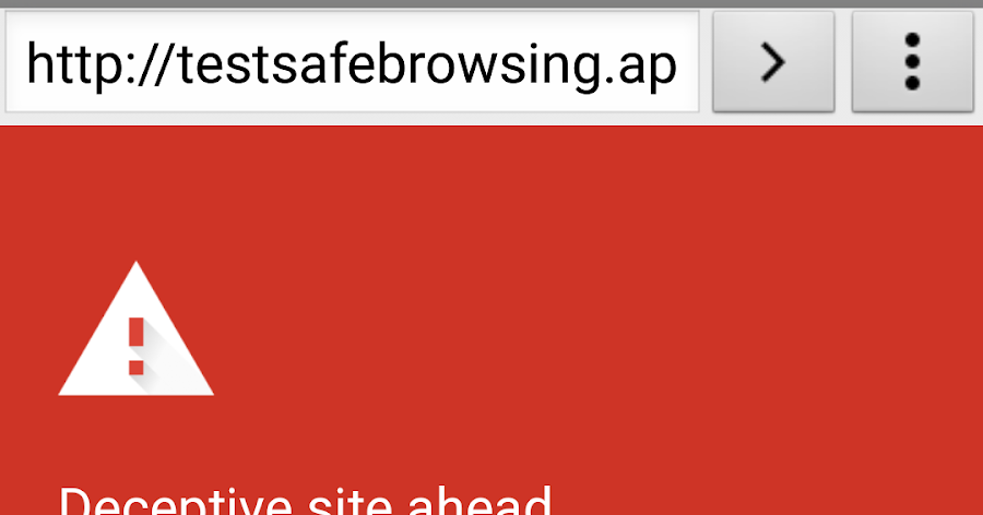 Chromium Blog: Protecting WebView with Safe Browsing